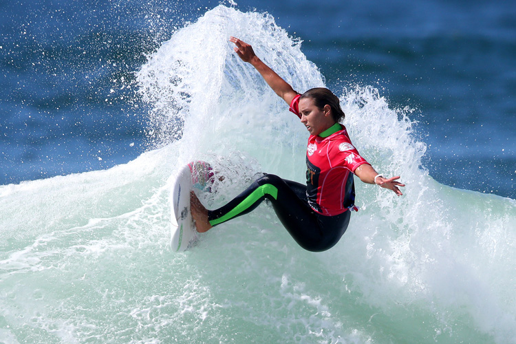 Sally Fitzgibbons: she dominated the  Taggart Women's Pro | Photo: WSL