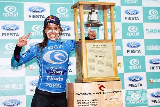 Sally Fitzgibbons: ringing the bell