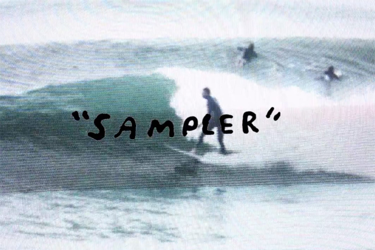 Dane Reynolds: sampling fonts and TV screens