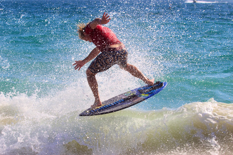 Sam Stinnett: fourth world skimboarding title | Photo: Fabiana Badie