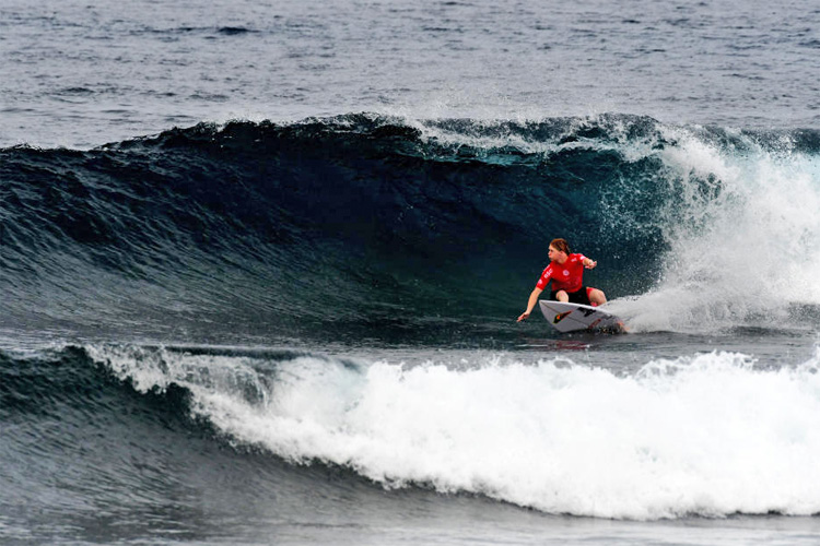Sandon Whittaker: he is only 16, but he won an event at Cloud 9 | Photo: WSL