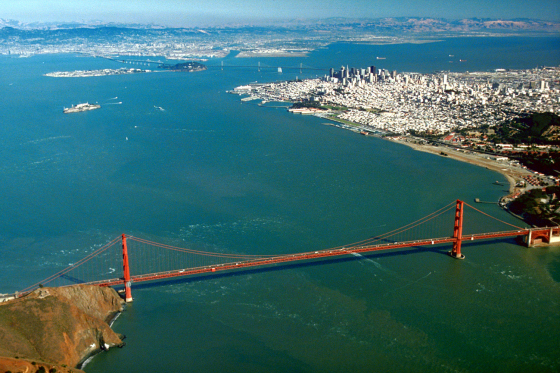 San Francisco Bay: too big, too easy to get lost