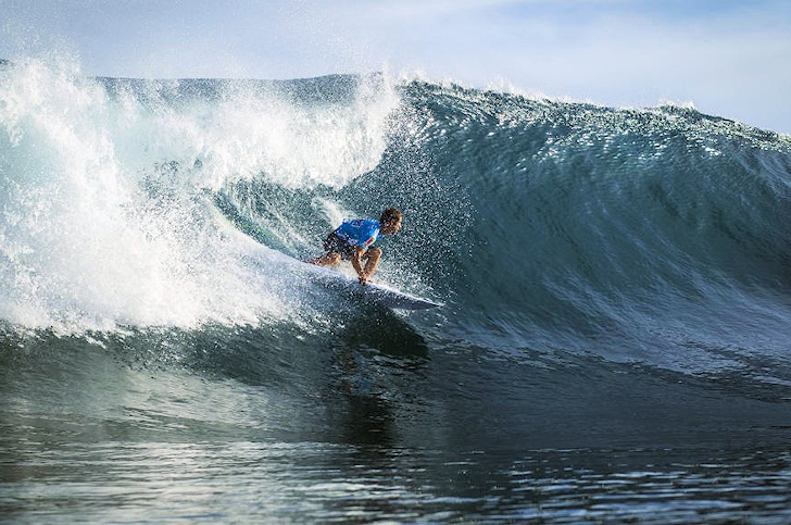 SATA Airlines Azores Pro 2014: perfect surf at Sao Miguel | Photo: ASP/Damien Poullenot