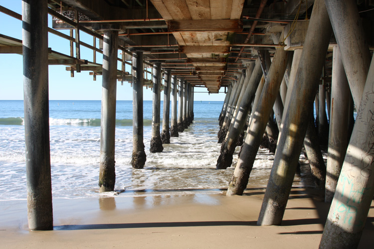 Santa Monica Pier: the water quality results are not satisfactory | Photo: Shutterstock