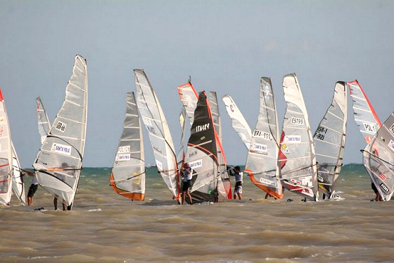 2009 Formula Windsurfing World Championship in Santa Pola