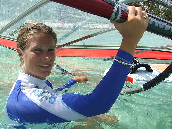 Sarah Hebert: the transatlantic windsurf dreamer