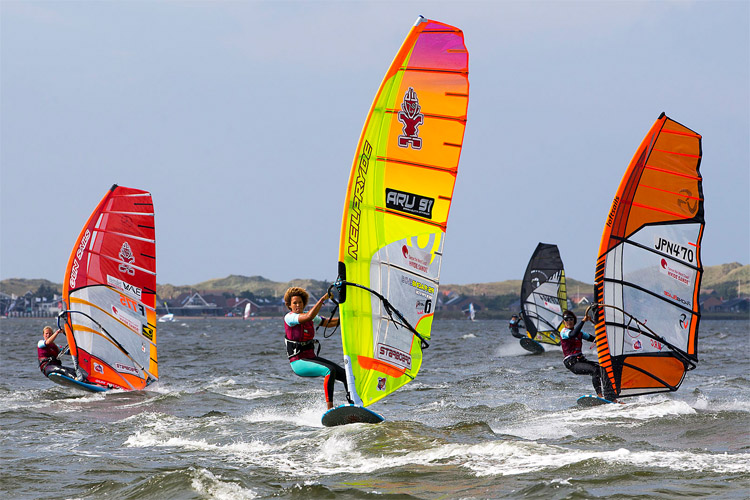 Sarah-Quita Offringa: she won her third PWA Slalom World Tour title | Photo: Carter/PWA