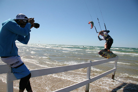 2010 Sauble Beach KiteJam: a different approac