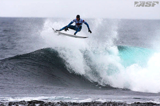 Mark Mathews in the O'Neill Cold Water Classic