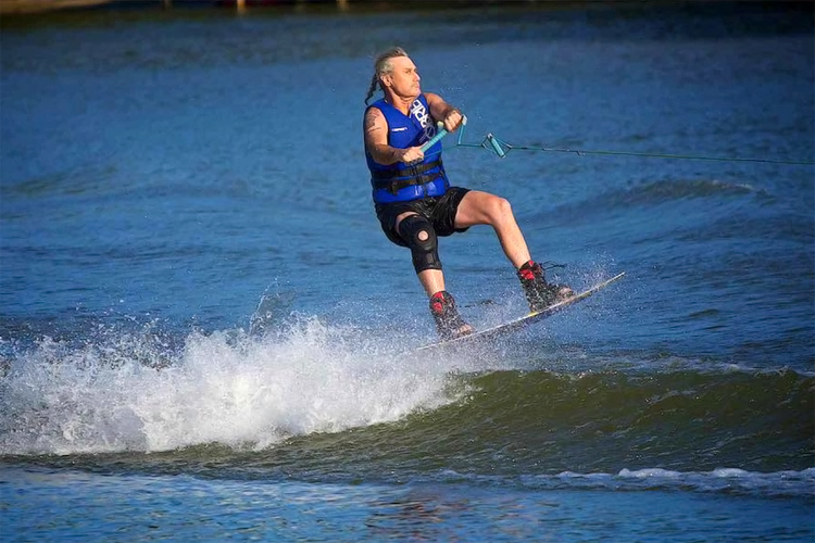 Scott Leason: he competed in a World Wake Association event | Photo: Leason Facebook