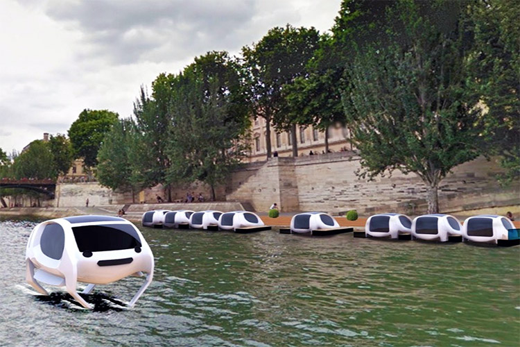 Need a river taxi? Take the Sea Bubbles