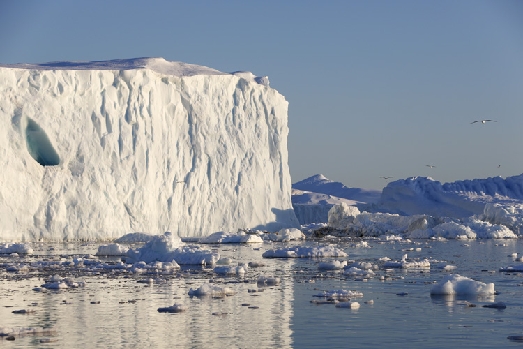 Greenland: the glaciers are melting fast | Photo: NASA/NordForsk