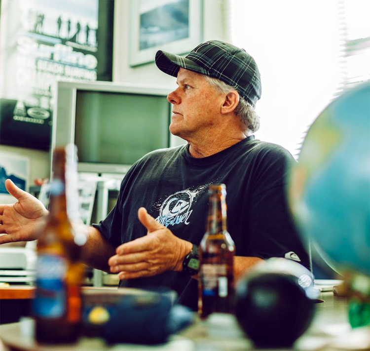 Sean Collins (1952-2011): the ultimate surf forecasting guru | Photo: Surfline