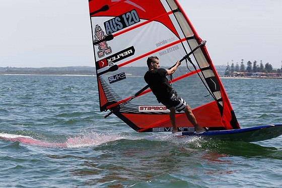Sean O'Brien: 7th Australian Formula Windsurfing title