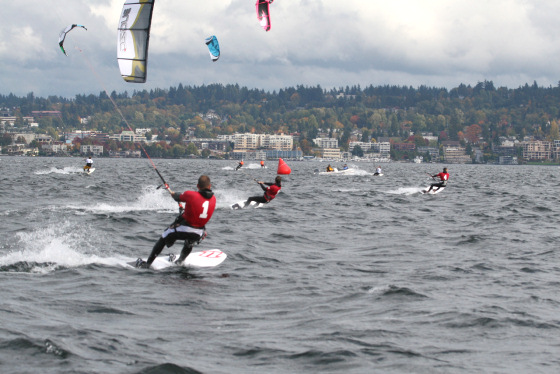 Seattle Kiteboard Races