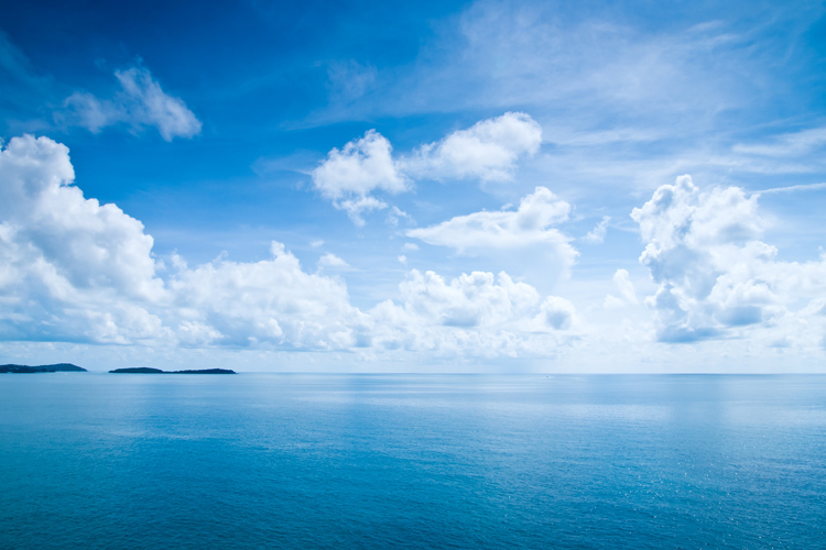 Sea water: the oceans of the world have a salinity level of only 3.5 percent | Photo: Shutterstock