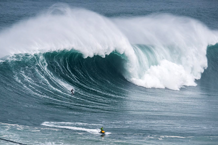 Sebastian Steudtner: chasing the Guinness World record for the biggest wave of all time | Photo: Aleixo/WSL