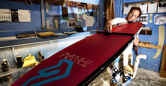 Sebastian Wenzel: Fanatic windsurf board shaper
