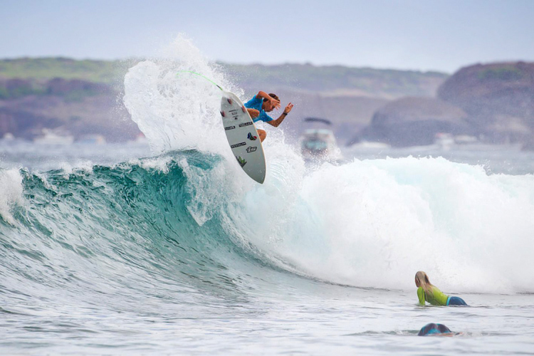 Sebastian Williams: the 2015 Quiksilver King of the Groms champions | Photo: Bravo/Quiksilver