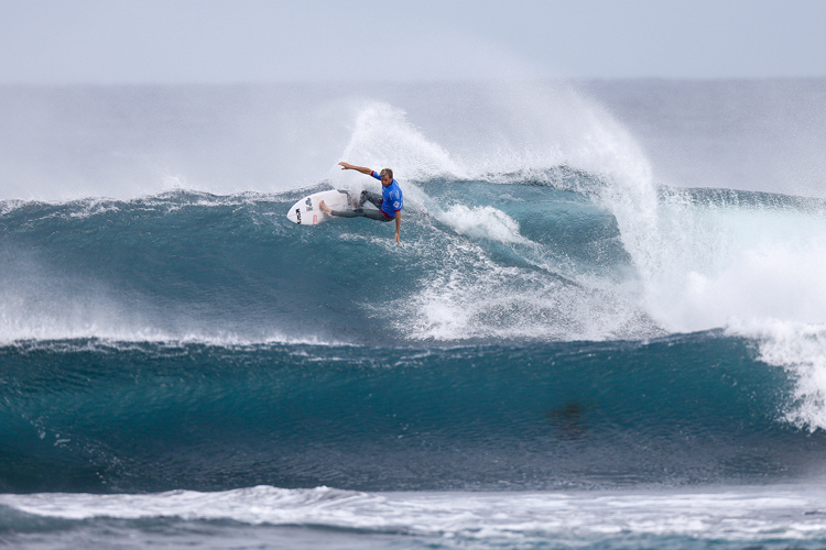 Sebastian Zietz: first ever CT win | Photo: Cestari/WSL