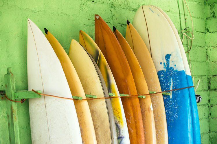 Used surfboards: learn how to sell your second-hand surfboard fast | Photo: Shutterstock