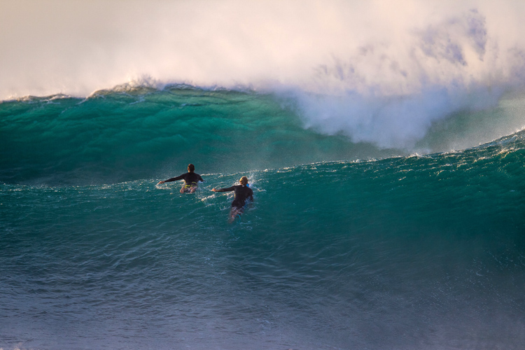 Set waves: never take the first wave of the set | Photo: Red Bull