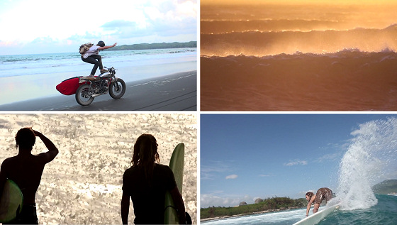 Se7en Signs: a surf movie collage