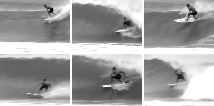 Shane Beschen: triple Perfect 10 for the history of surfing