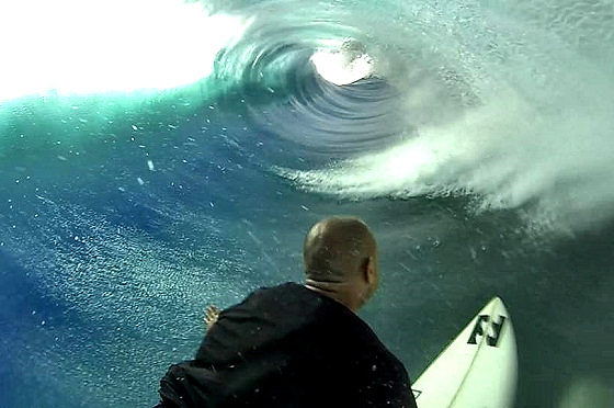 Shane Dorian: a barrel seen by a big wave surfer