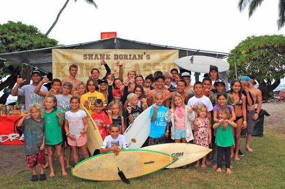 16th Shane Dorian Keiki Classic: fun and competitive