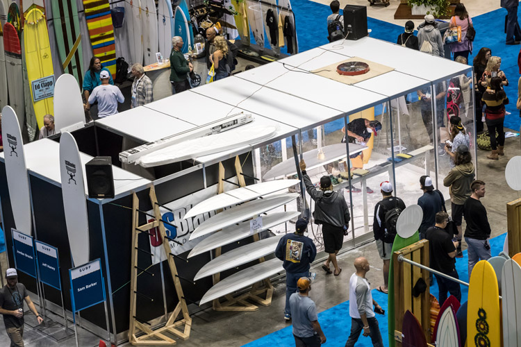 Surf Expo: live shape-offs attract hundreds of industry professionals | Photo: Surf Expo