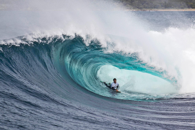 Shark Island Challenge: deep barrels and vertical drops | Photo: IBA