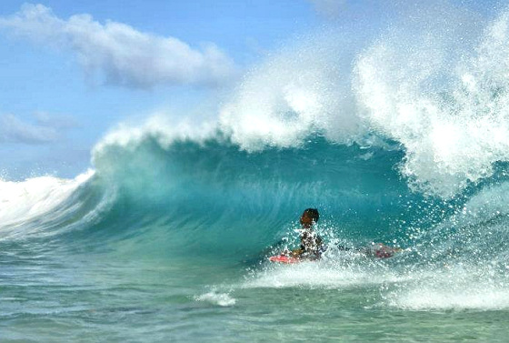 Shaydon Wolfe: he is ready to be a pro bodyboarder