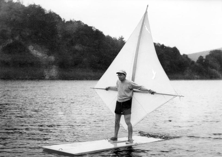 S. Newman Darby: the inventor of the sailboard, the father of windsurfing | Photo: Naomi Albrecht