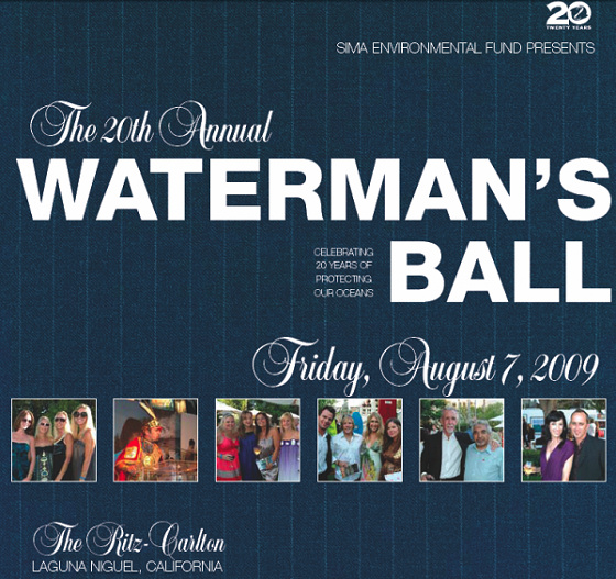 2009 SIMA Waterman's Ball
