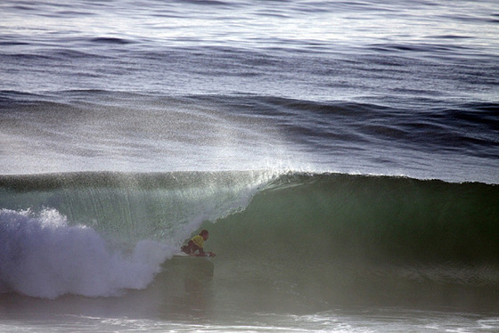 Sintra Portugal Pro 2010: there's always the tube...
