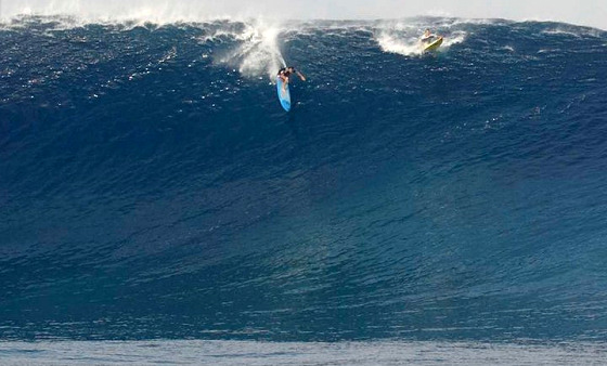Sion Milosky: big wave charger