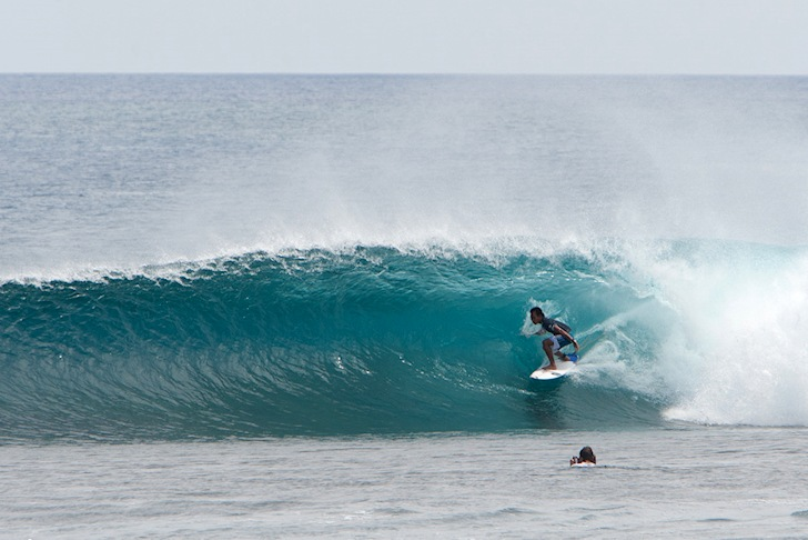 Cloud 9: Putra Hermawan at work | Photo: ASP/Hain