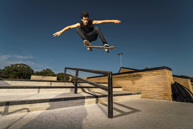 Skateboard tricks: there are over 350 maneuvers in skateboarding | Photo: Shutterstock