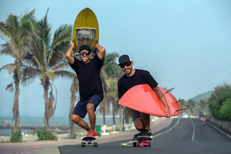 Skateboarding: it helps you become a better surfer | Photo: Shutterstock
