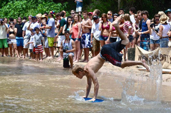 Skim Jam: skimboarding against cancer
