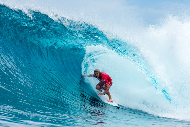 Skip McCullough: he secured the best result of his career at Cloud 9 | Photo: Power/WSL