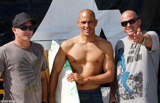 The Slater Brothers: partner in surfing