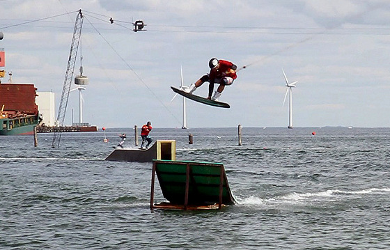 Slide'N'Ride: a nice cable park in cold Denmark