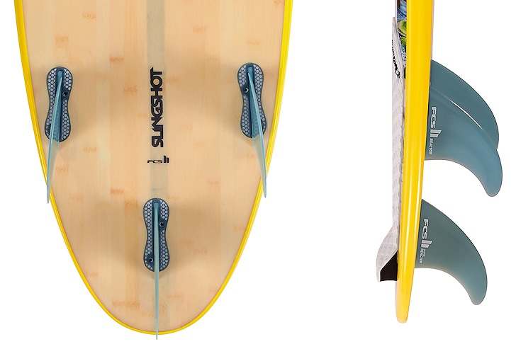Slingshot: FCS II in all kite boards