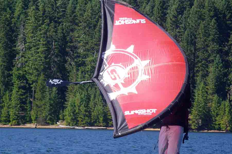 Slingwing: the single-strut inflatable sail by Slingshot | Photo: Slingshot