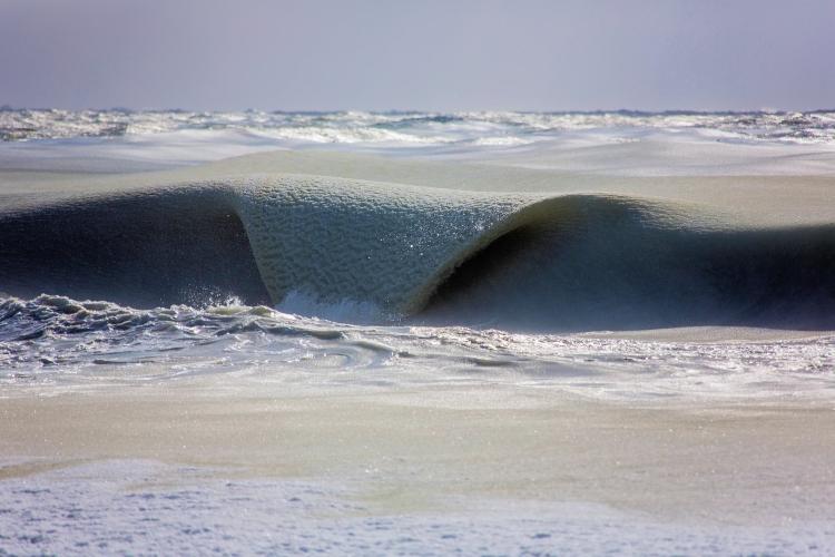 Slurpee wave: break the ice   Photo: Jonathan Nimerfroh