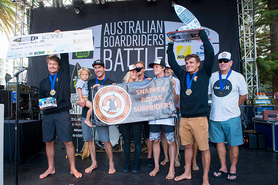 Snapper Rocks Surfriders Club: proud and happy