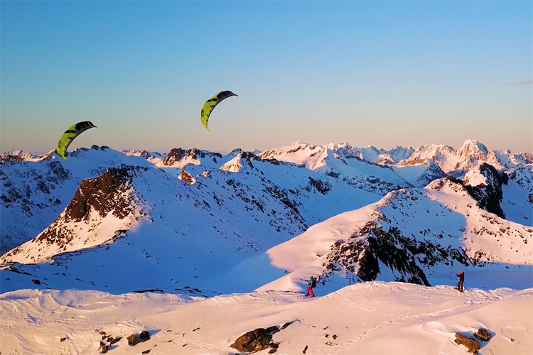 Norway: a snow kiteboarding paradise