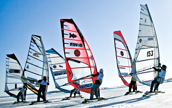 World Ice and Snow Sailing Championship: where H2O is not liquid | Photo: WISSA